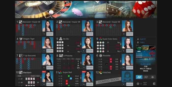 1s live casino