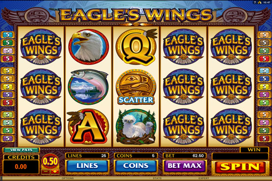 eagles wings slot online