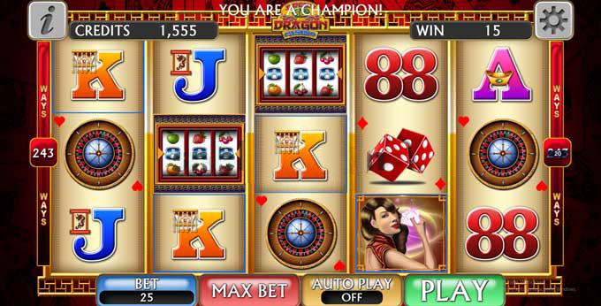 lucky dragon casino holiday slot