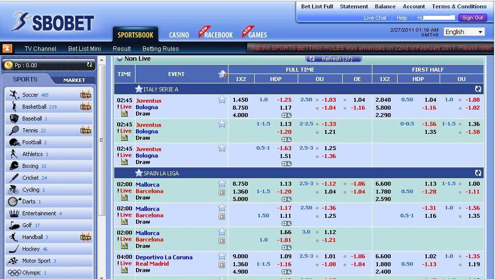 How to bet on Football SBOBET for a new player